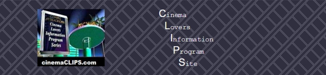 CLIPS-Cinema Lovers Info Program Site